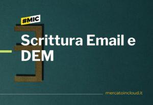 4145Scrittura email, dem, e account per email