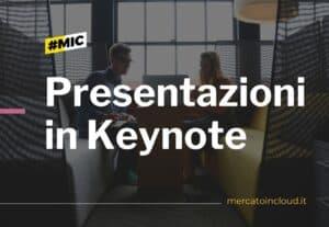 Presentazione in Keynote