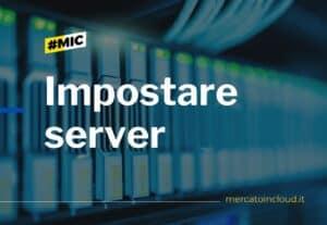 4161Impostare server