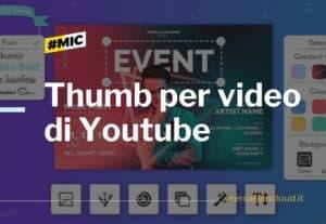 Thumb per siti e video di youtube
