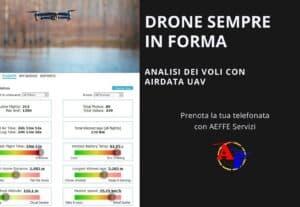 403511. DRONE SEMPRE IN FORMA CON PROGRAMMA DI MONITORAGGIO COMPLETO: Airdata uav