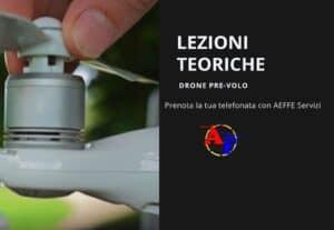 401906. LEZIONI TEORICHE PRE-VOLO DRONE