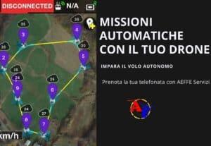 403009. FAI VOLARE IL DRONE DA SOLO: Missioni automatiche