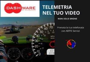 403310. TELEMETRIA NEL TUO VIDEO FINALE  (non solo drone!)