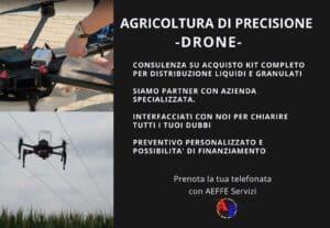 16. CONSULENZA PER ACQUISTO ED USO DRONE IN AGRICOLTURA DI PRECISIONE