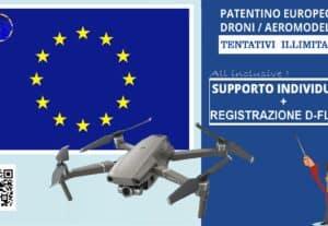 513516d- PATENTINO EUROPEO A1/A3 + QRCODE OPERATORE – Sessione individuale