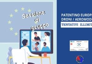 514016b- PATENTINO EUROPEO A1/A3 – Sessione di gruppo